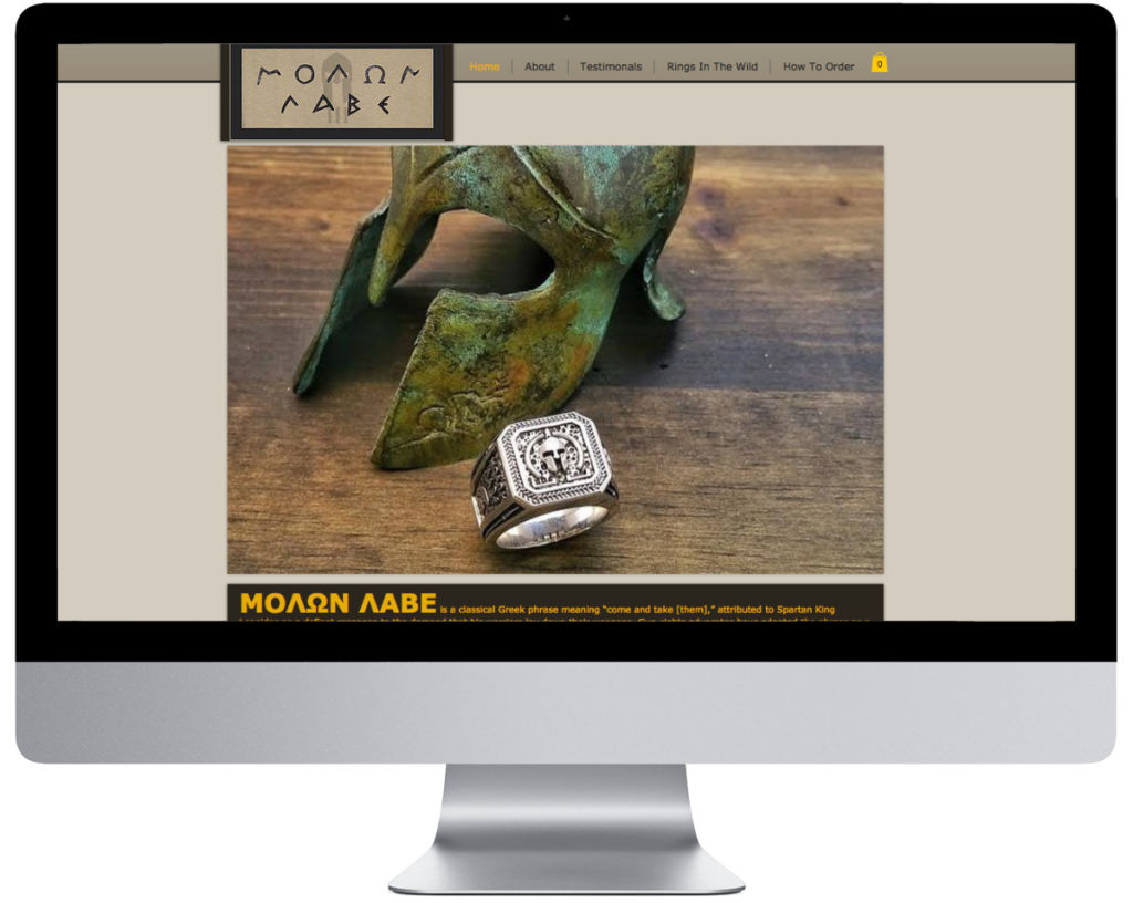 SpringSEO Client - 2A Molon Labe Website Preview