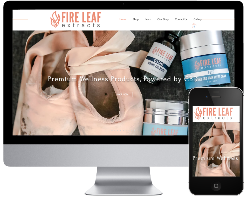 Fire Leaf Extracts - Spring SEO, Inc. client